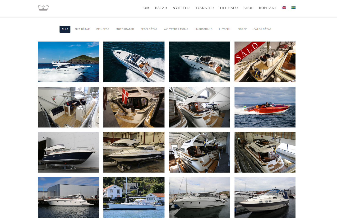 Brokerage and sale of used boats